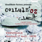 """Cellul'oz"" exhibition by Cindy Choisy – April 17, 2015"